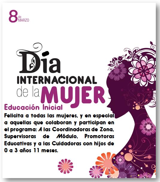 8 De Marzo Día Internacional De La Mujer Sociales Educación